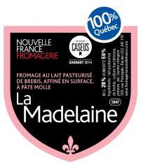 La Madelaine étiquette